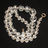 Faceted Crystal Necklace Versatile Dramatic Vintage