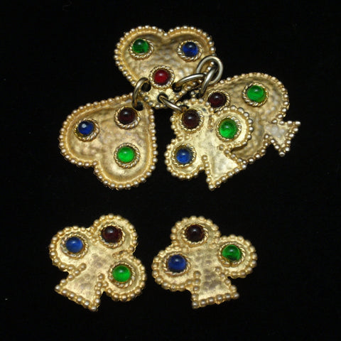 Edouard Rambaud, Paris Pendant and Earrings