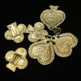 Edouard Rambaud Paris Pendant and Earrings Set Vintage