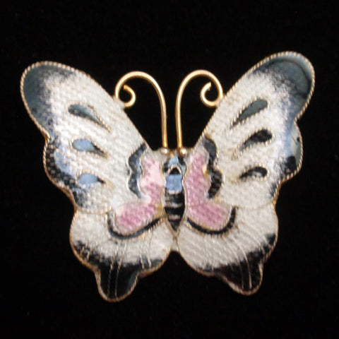 Enamel Butterfly Pin