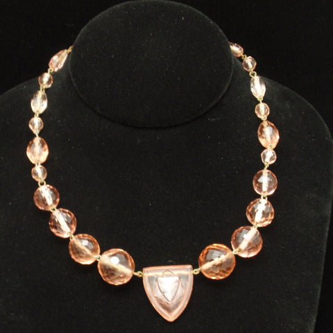 Art Deco Czech Necklace
