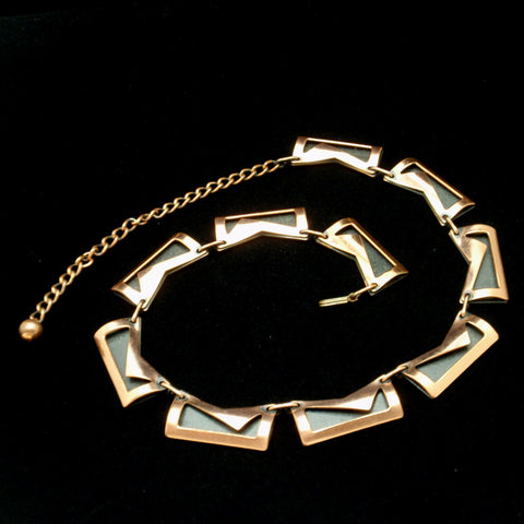 Vintage Copper Necklace