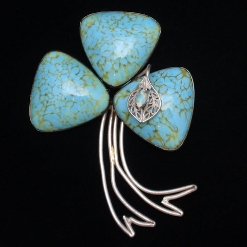 Large Shamrock Pin