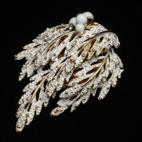 Snow Covered Branch Pin