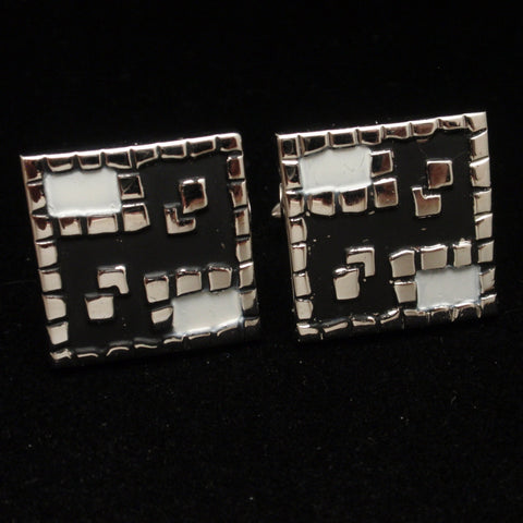 Abstract Cuff Links