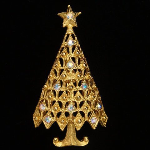 Tancer II Christmas Tree Pin