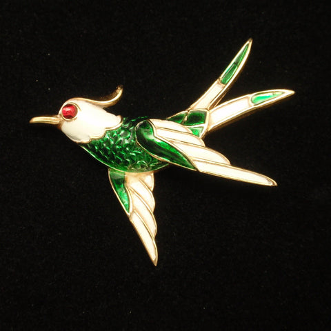 Trifari Bird Pin