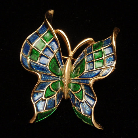Trifari Butterfly Pin