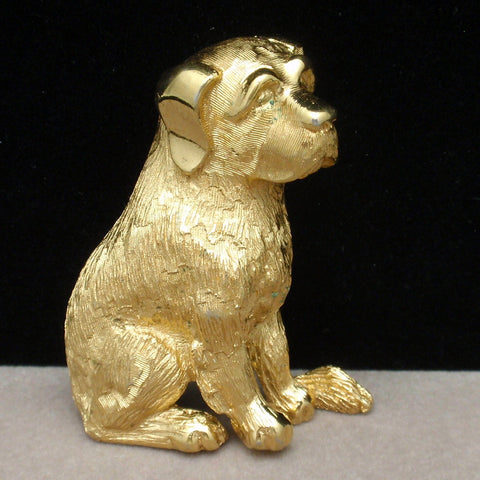 Trifari Dog Pin