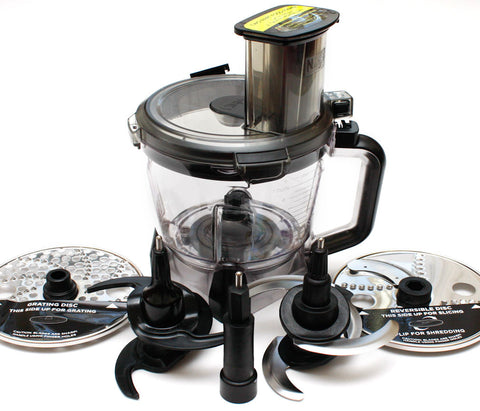 Ninja Mega Kitchen System 64 oz Food Processor 7 PIECE SET