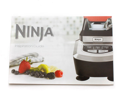 Ninja Inspiration Guide RECIPE Book From Ninja Kitchen System 1100 ...
