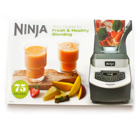 ninja inspiration guide recipe book from ninja pro blender single rh blenders and mixers myshopify com Healthy Living Guide the Ninja Healthy Living Guide the Ninja