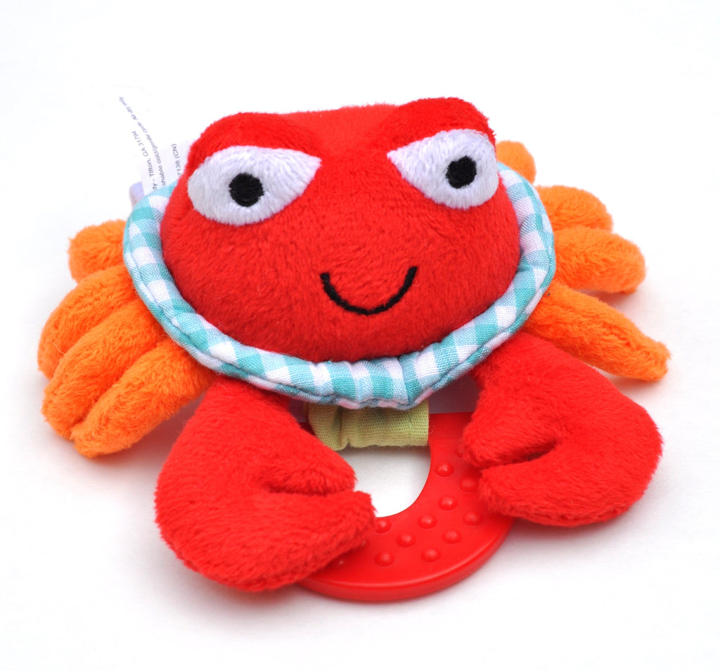 Wristy Buddy Crab plush teether