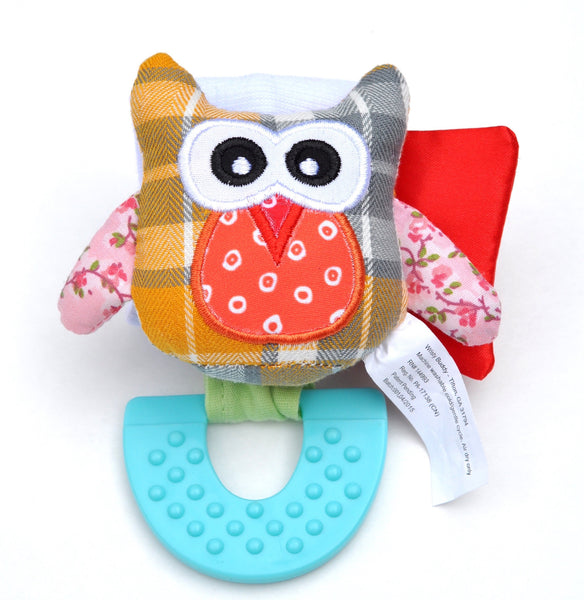 Wristy Buddy Owl Teether