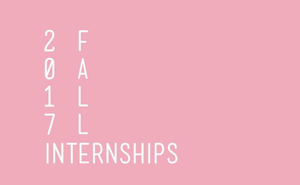 We're looking for Fall Interns!
