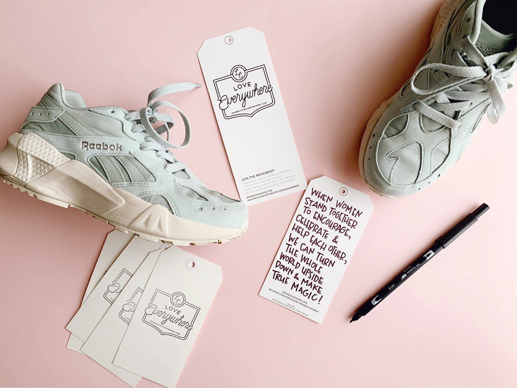 Celebrating International Women's Day With Reebok x Love Everywhere