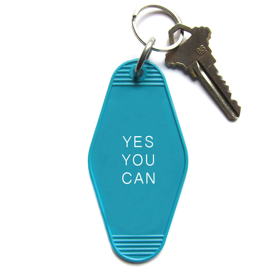 YES YOU CAN Key Chain