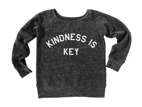 Kindness Is Key Long Sleeve Sweatshirt