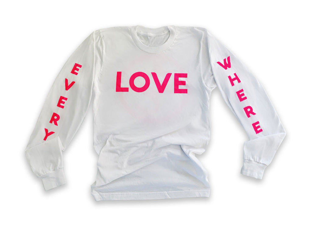Love Everywhere Long Sleeve Shirt