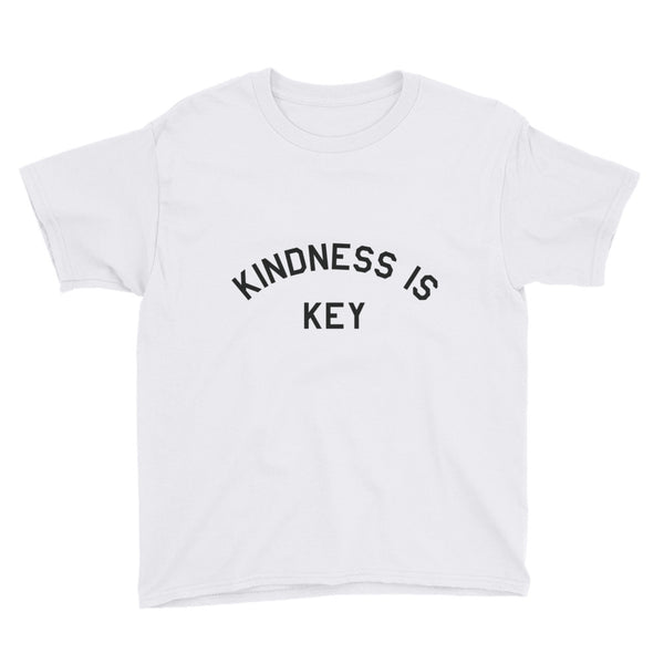 Kindness Is Key Kids Short Sleeve T-Shirt