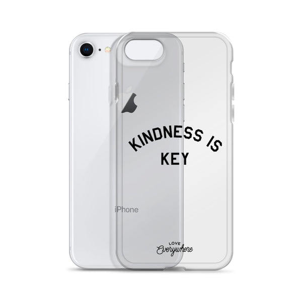 Kindness is Key iPhone Case