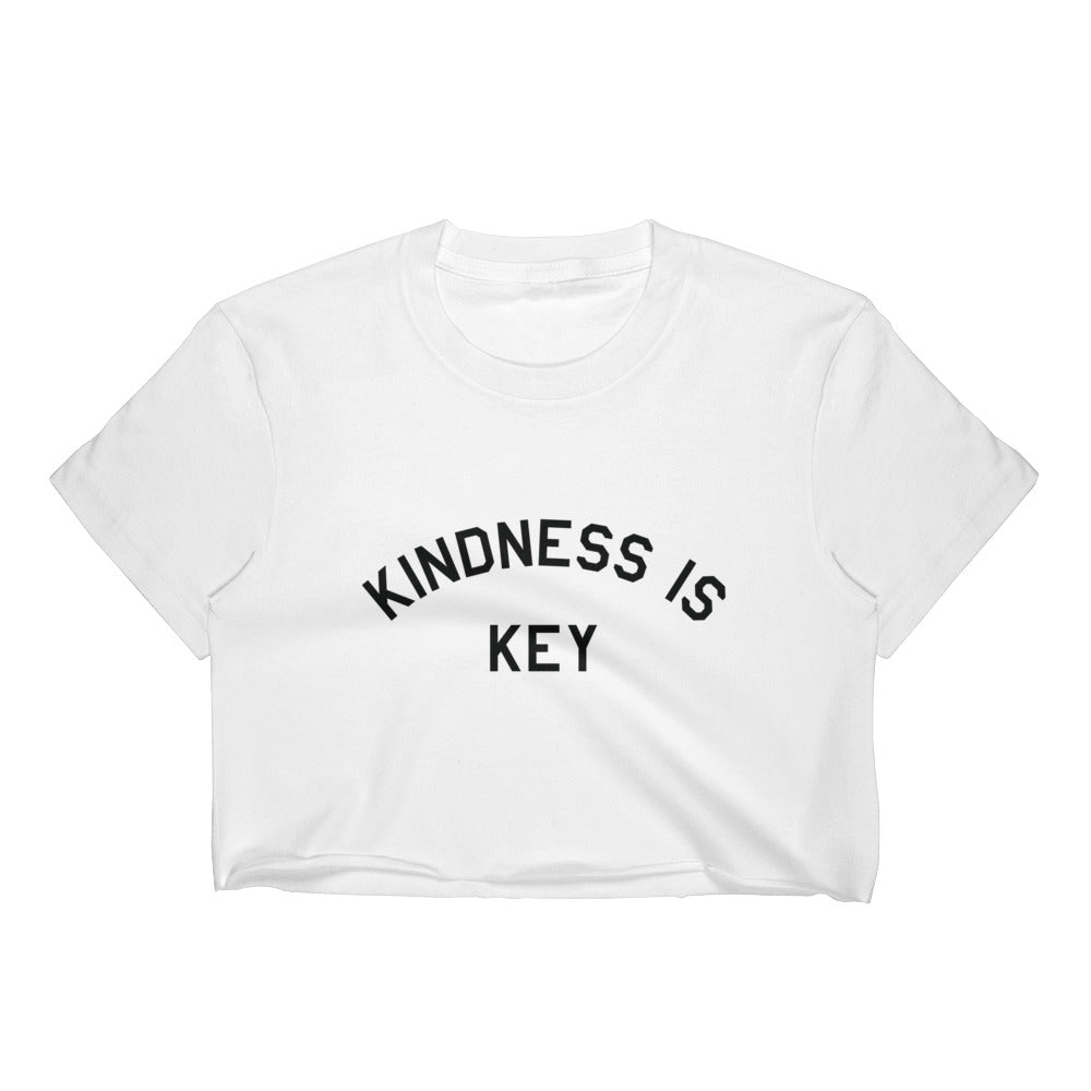 Kindness is Key Crop Top