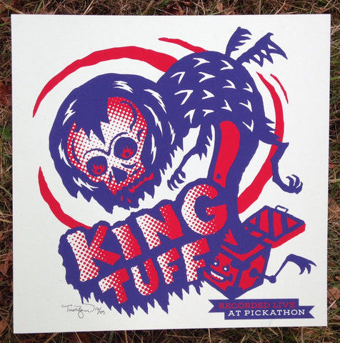 "Live At Pickathon: King Tuff (12"" x 12"" print)"