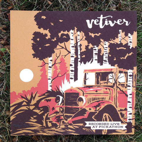 "Live At Pickathon: Vetiver (12"" x 12"" print)"