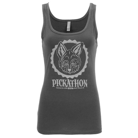 Picakthon 2016 Coyote - Women's Tank Top - Dark Grey