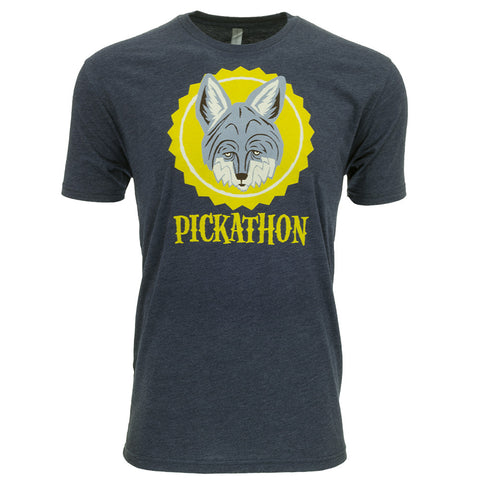 Pickathon 2016 Coyote - Full Color - Men's Tee - Vintage Navy