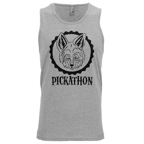 Pickathon 2016 Coyote - Men's Tank - Dark Heather Grey
