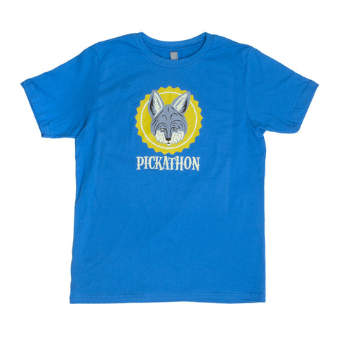 Pickathon Youth - Coyote Tee -Turquoise
