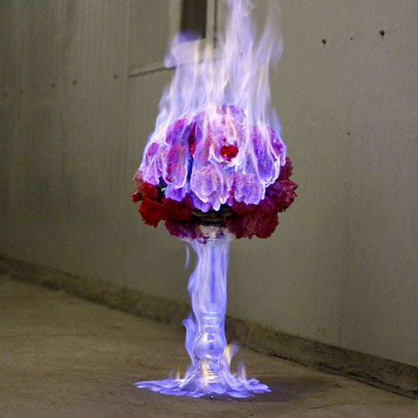 ART | Love Letters: Flowers Engulfed by Fire by Jiang Zhi