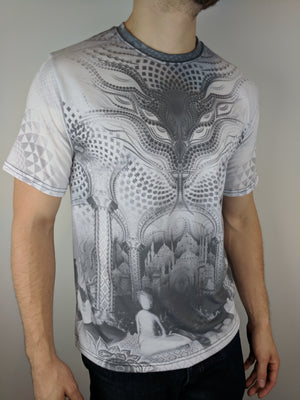 Black and White Padwan Tee by Salvia Droid
