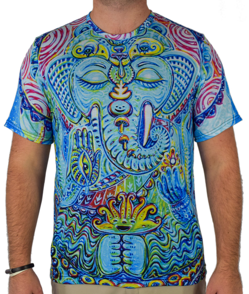 Elephant Tee by Chris Sukut