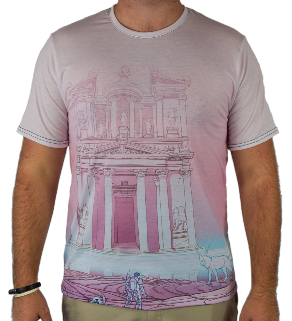 Temple of Reflection Tee by Phazed