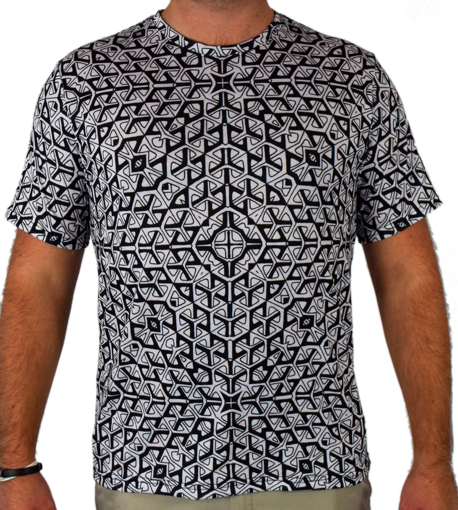 Angles and Lines Tee by Nate Johnson