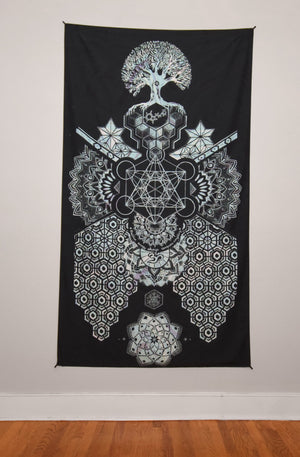 Geometric Tapestry 50x90 Inches by Mil Et Une