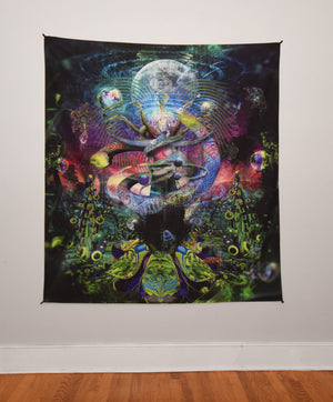 Venus Exalted Tapestry 60x60 Inches by Hakan Hisim