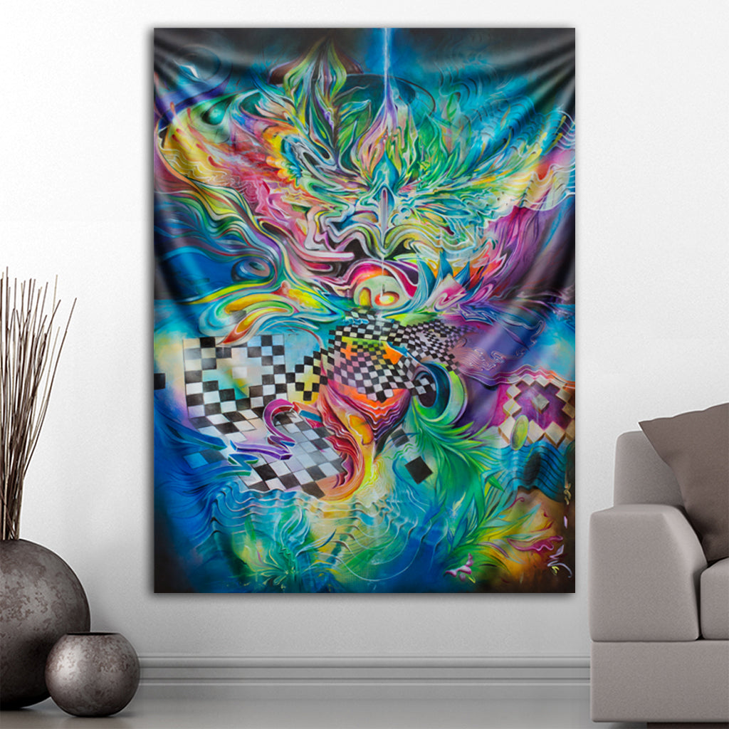 Beyond Me Tapestry by Artfool