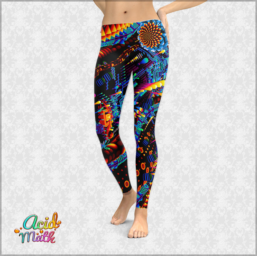 Bend Color Leggings by TAS