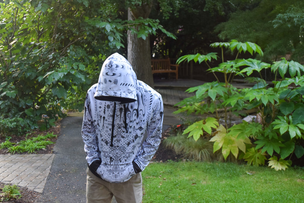White Gamehands Hoodie by TAS