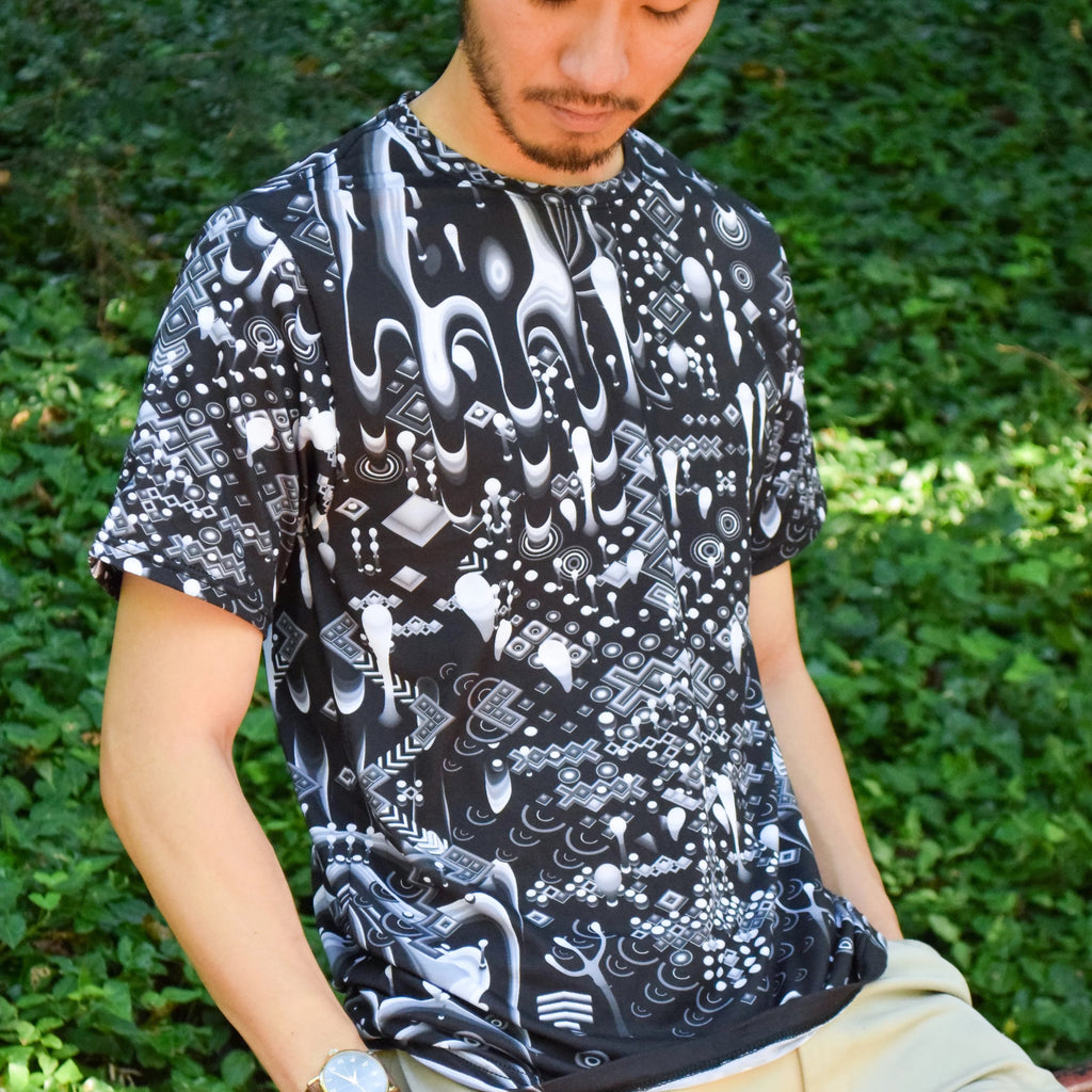 Monochromatic Gamehands Tee by TAS