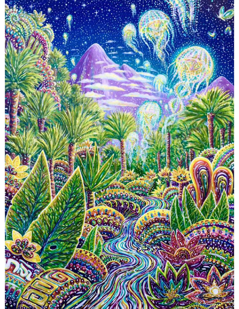 Dream World Print by Chris Sukut