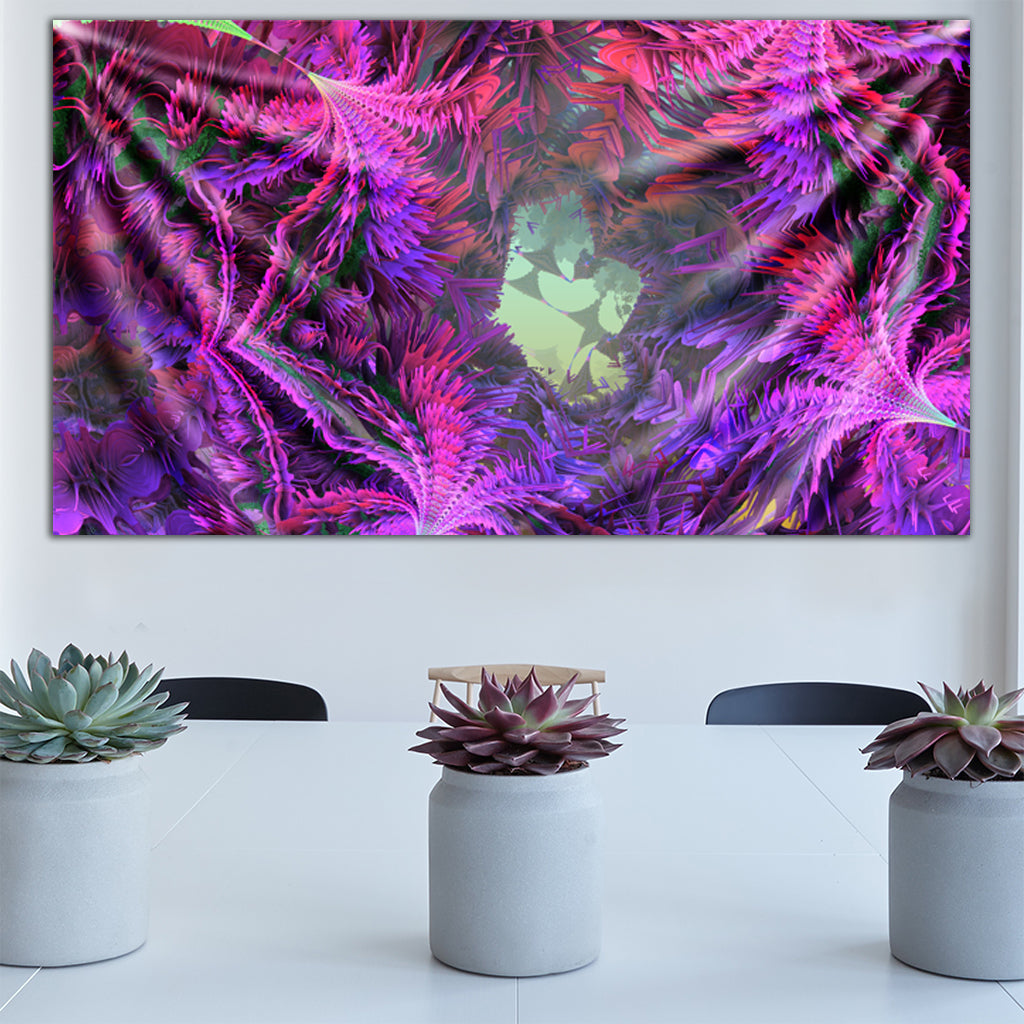 Flowering Animation Version 2 Tapestry by Fractually