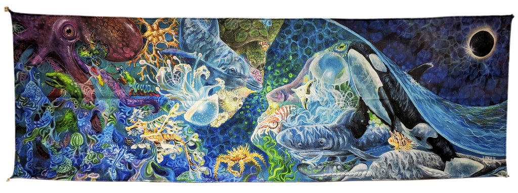 "What I Sea In You 60""x20""  LIMITED EDITION SALE by Charlotte Borial"