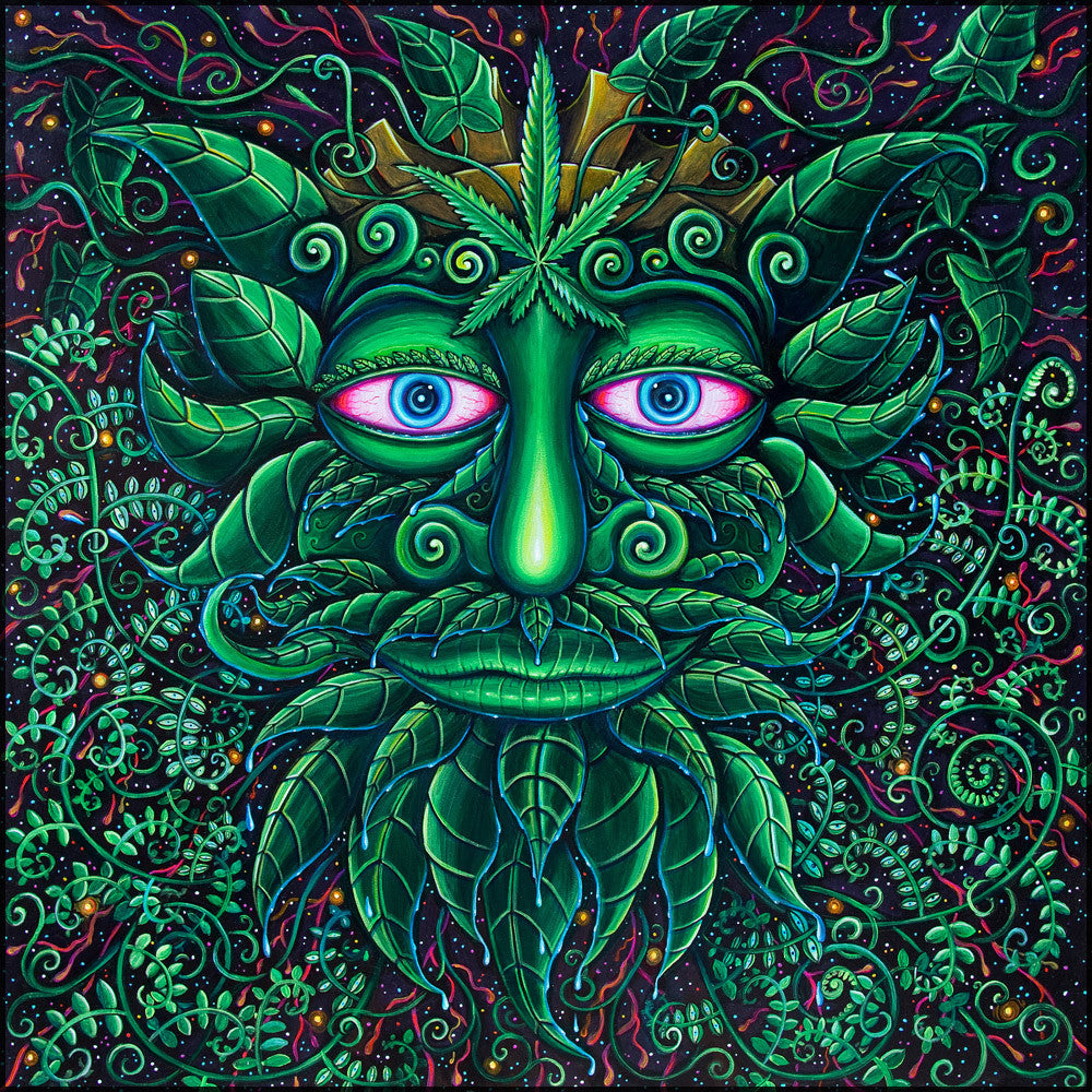 Green Man by John Speaker