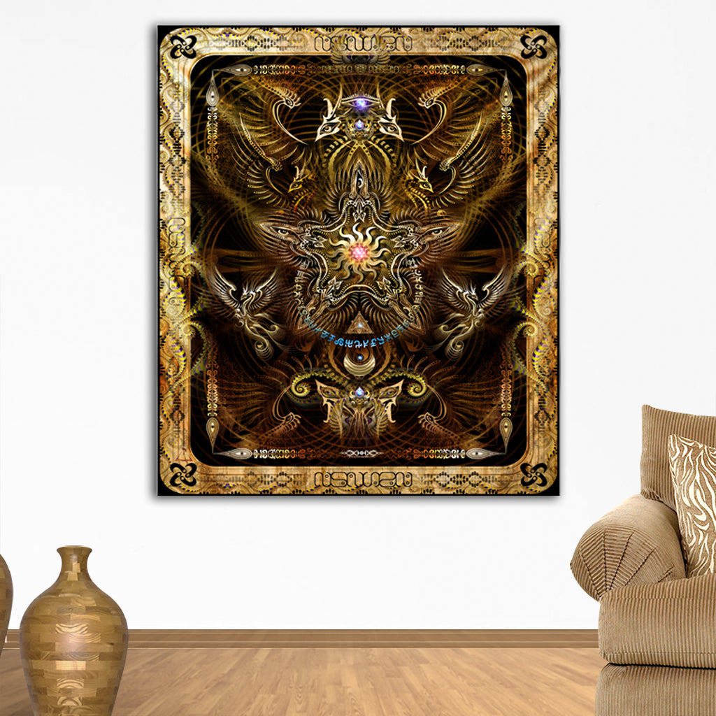 Sol Invictus Tapestry by Hakan Hisim