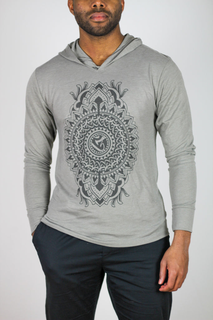 Third Eye Mandala Hoodie T-shirt by Keegan Sweeney