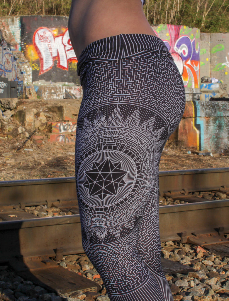 Labyrinth Capris by Brook Springstead